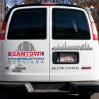 Rebranding – Van Backside
